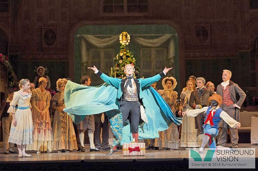 Gary Avis as Herr Drosselmeyer in The Royal Ballet production of The Nutcracker (1984), choreographed by Peter Wright after Lev Ivanovich Ivanov (1834-1901) to music by Pyotr Il'yich Tchaikovsky (1840-1893), with set and costume designs by Julia Trevelyan Oman (1930-2003) and lighting design by Mark Henderson. Performed at The Royal Opera House, Covent Garden on 7 December 2012. ***ARPDATA*** THE NUTCRACKER ;  Music by Tchaikovsky ; Choreography by Wright ; The Royal Ballet  ; At the Royal Opera House, London, UK ;  7 December 2012 ; Credit: Royal Opera House / ArenaPAL