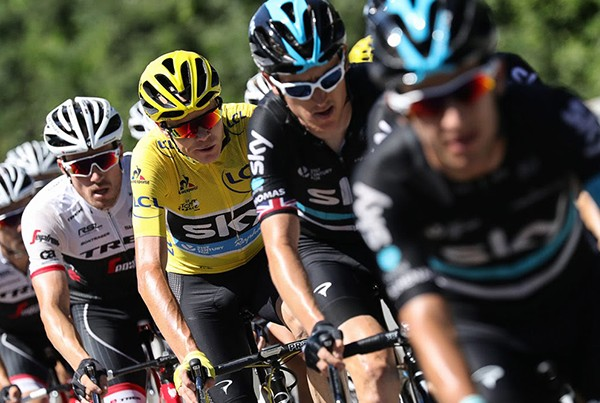Team Sky – Journey to the Tour (VR Promo) | Sky Sports